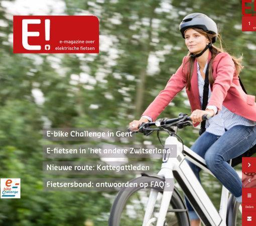 E! magazine over elektrische fietsen