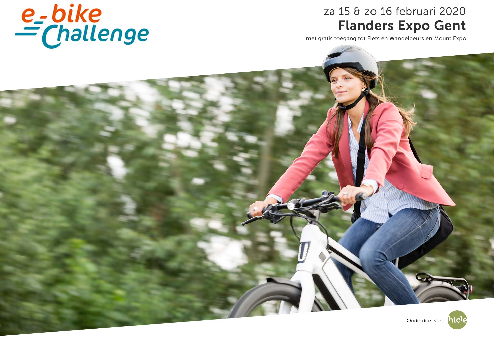 header e-bike challange belgie 2020